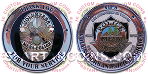 Custom Police & Law Enforcement Challenge Coins for sale