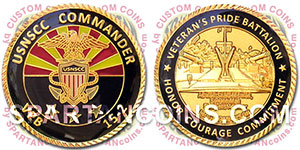 United States Navy Sea Cadet Corps challenge coin