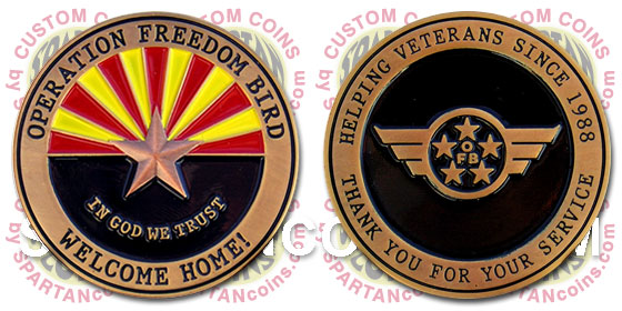 Operation Freedom Bird challenge coin